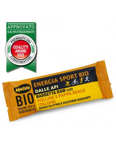 Organic Energy Sport Raw Bar 35g