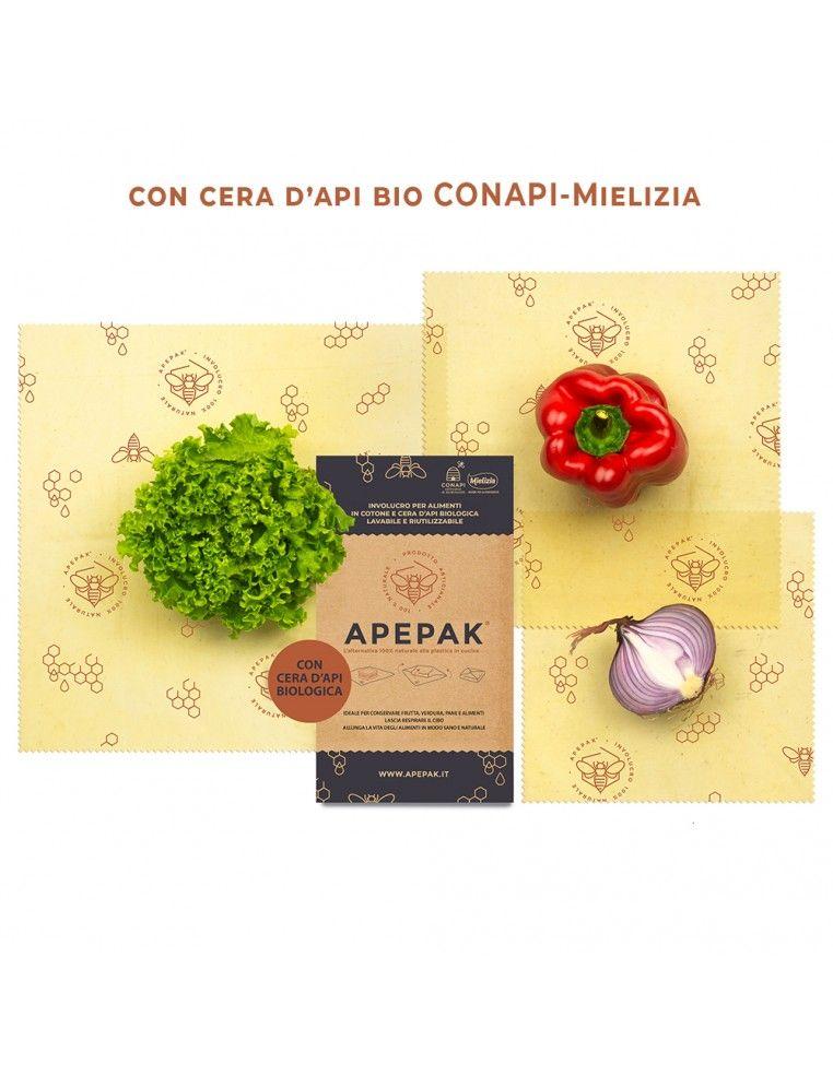 Apepak Tre Misti - 3 assorted wraps