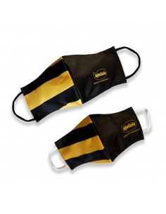 Face mask - Black/Yellow