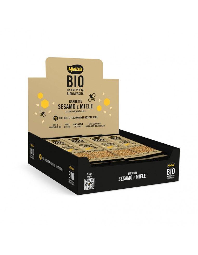 Barretta Bio miele e sesamo 25g - Box...