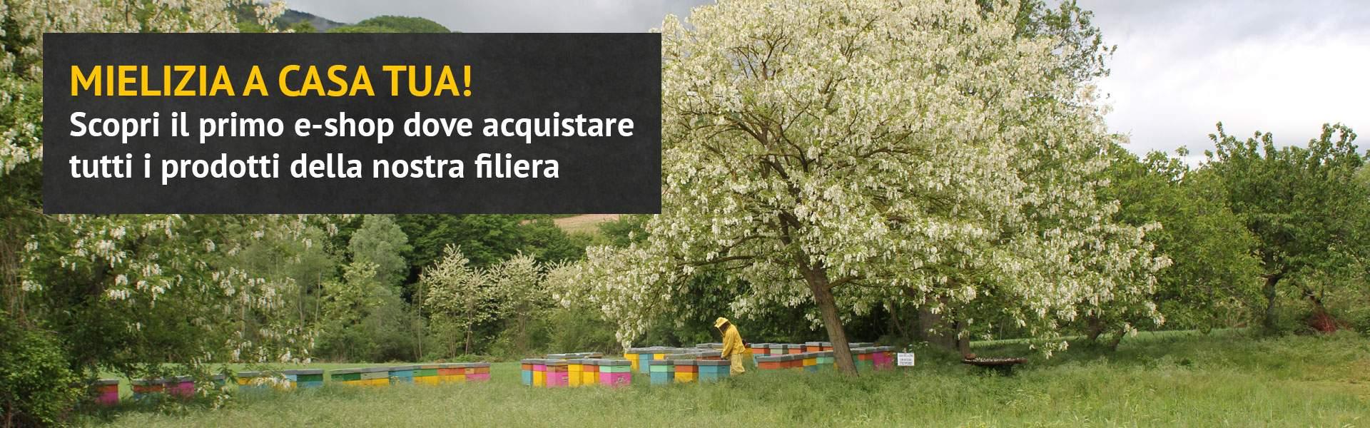 Acquista i prodotti Mielizia online - Mieli, composte di frutta, frollini, polline, pappa reale, integratori naturali biologici